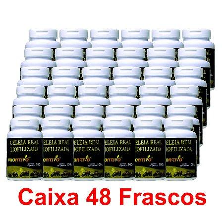 PROMOÇÃO 48 Geleia Real Liofilizada - 60 Capsulas