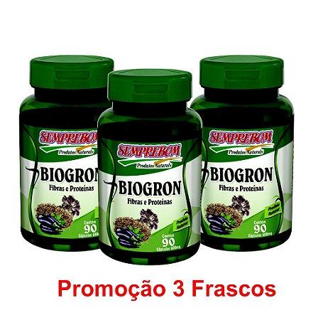 PROMOÇÃO 3 BIOGRON 90 CAPSULAS 600mg