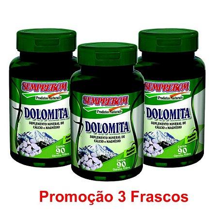 PROMOÇÃO 3 DOLOMITA 90 CAPSULAS