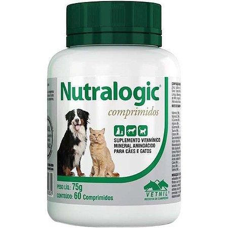 Suplemento Nutralogic Comprimido Vetnil - 60 Caps