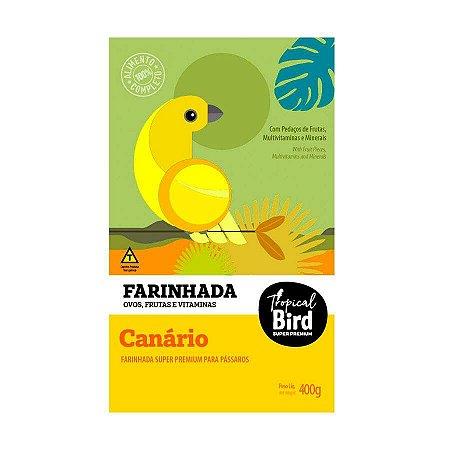 Farinhada Para Canário Tropical Bird Zootekna 400g