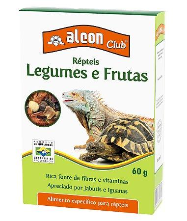 Alimento Para Répteis Legumes e Frutas 60G