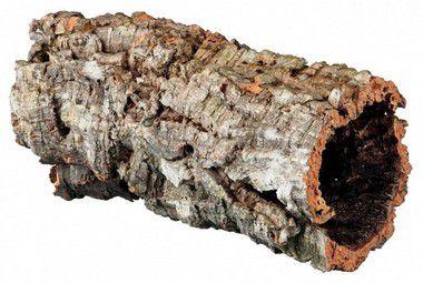 Tubo Cork Bark Toca e Esconderijo Para Répteis e Anfíbios