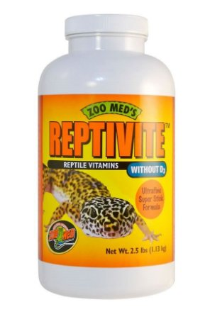 Vitamina Para Repteis Sem D3 Zoo Med Reptivite 227g
