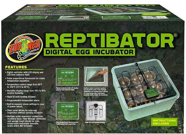 Zoo Med Incubadora Reptibator Para Ovos De Répteis