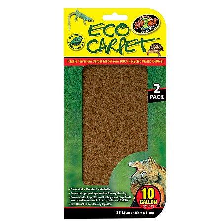 Zoo Med Carpete Para Terrário De Répteis Em Duas Cores