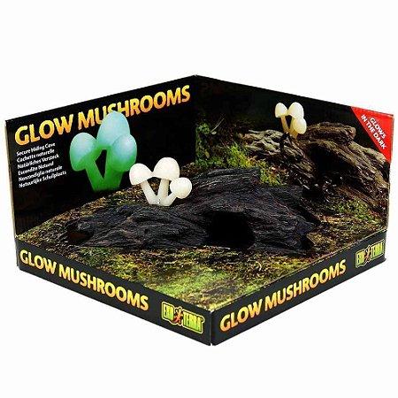 Toca Para Répteis Exo Terra Glow MushRooms
