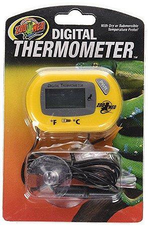 Termômetro Digital Para Répteis Zoo Med Thermometer