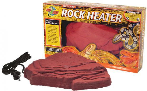Pedra Aquecida Para Répteis Zoo Med Rock Heater Standard