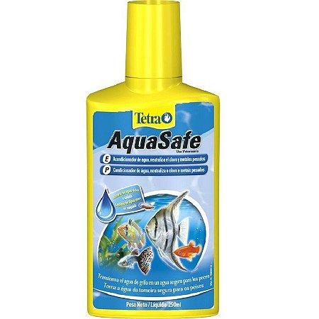 Condicionador e Anti-Cloro Para Aquaterrário Tetra Aquasafe
