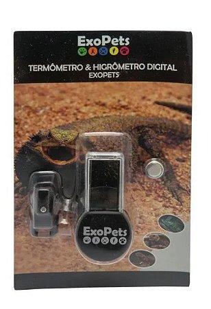 Termômetro e Higrômetro Digital Para Répteis