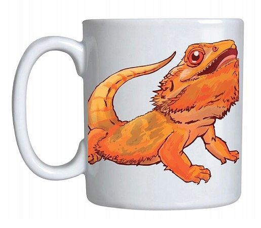 Caneca de Cerâmica Bearded Dragon