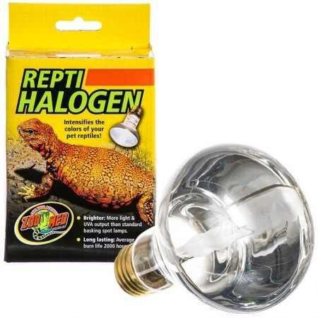 Zoo Med Lampada de Aquecimento UVA Repti Halogen