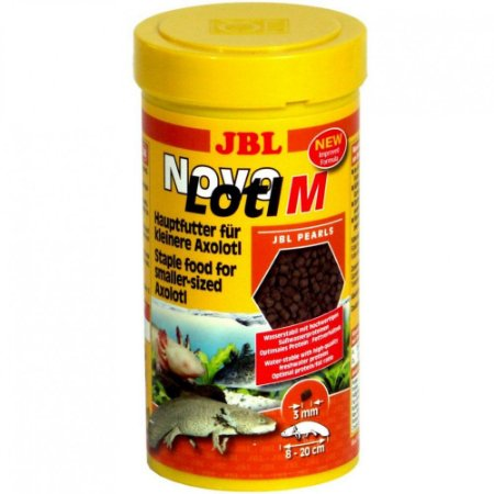 Alimento Para Axolotl JBL Novo Lotl M 250 Ml