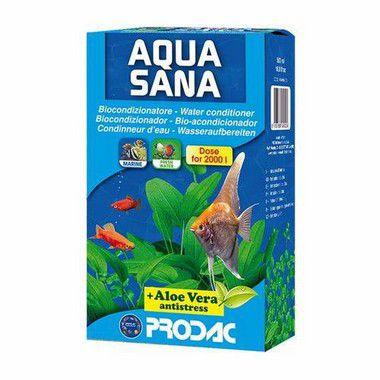 Condicionador e Anti-Cloro Para Aquaterrário Prodac  Aquasana