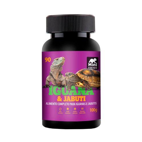 Ração Mini Friends para Iguana e Jabuti sabor Frutas e Vegetais 100g