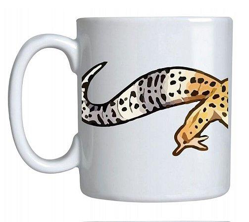 Caneca de Cerâmica Leopard Gecko