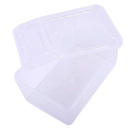 Caixa Plastica Com Respiro Para Répteis e Insetos