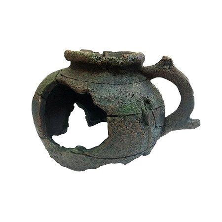 Toca e Esconderijo Para Répteis Cerâmica Grega Ruina