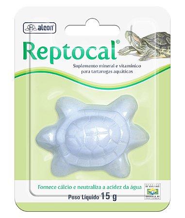 Suplemento de Cálcio Para Tartaruga Alcon Reptocal 15g