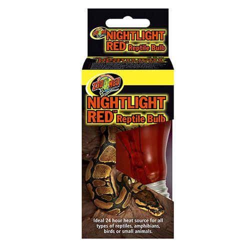 Lampada Noturna Vermelha Para Répteis Zoo Med NightLight Red
