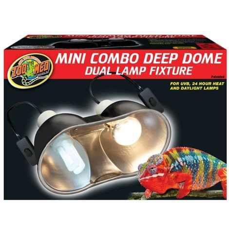 Luminária Dupla Para Terrário de Répteis Zoo Med