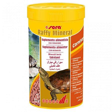 Alimento Para Tartarugas e Répteis Carnívoros Sera Raffy Mineral
