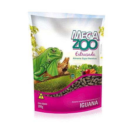 Alimento Para Iguana e Répteis Herbívoros 280g Megazoo