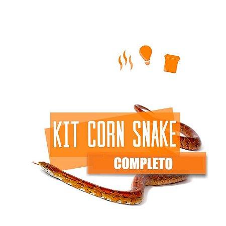 Kit Completo Para Corn Snake Com Brinde