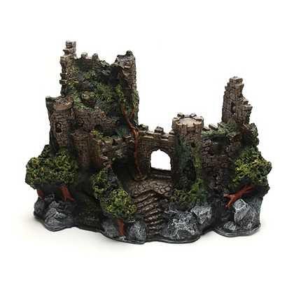 Toca Em Resina Castelo Grande Para Répteis