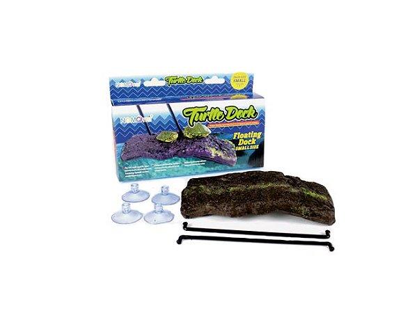 Plataforma Para Aquaterrário De Tartaruga Nomoy Pet Turtle Dock M