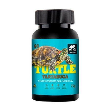 Ração Turtle Mini Friends para Tartaruga Tigre D'Água 160g