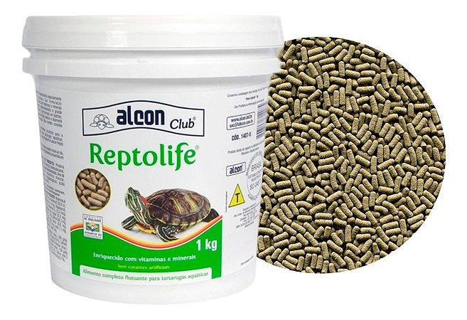 Alimento Para Cágado Tigre D'Água Alcon Club ReptoLife 1kg