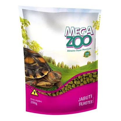 Alimento Para Jabuti Filhote Megazoo 200g