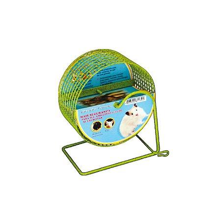 Gira Gira Pequeno Para Hamster Anão Bragança Exercitador Aramado