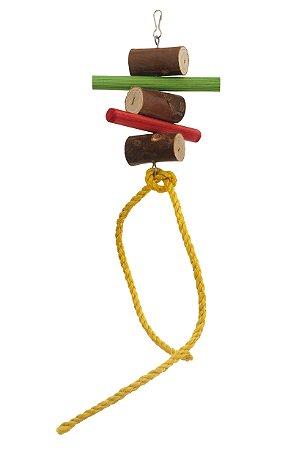 Brinquedo Para Aves Bragança Pêndulo Médio