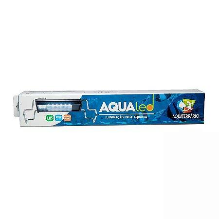 Luminária Para Terrário Aqualed Branca/azul 40-45cm 15w 1030 Lm