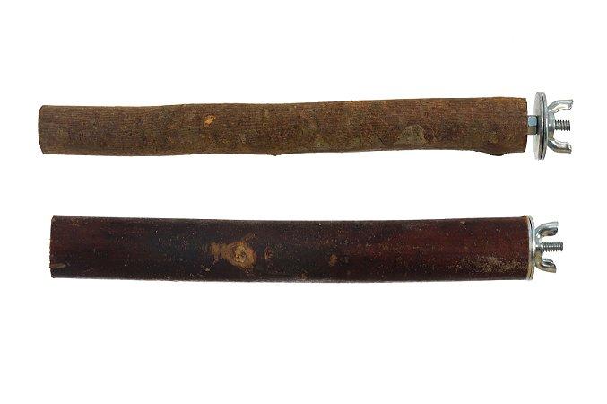Poleiro Reto Rústico Bragança 30cm