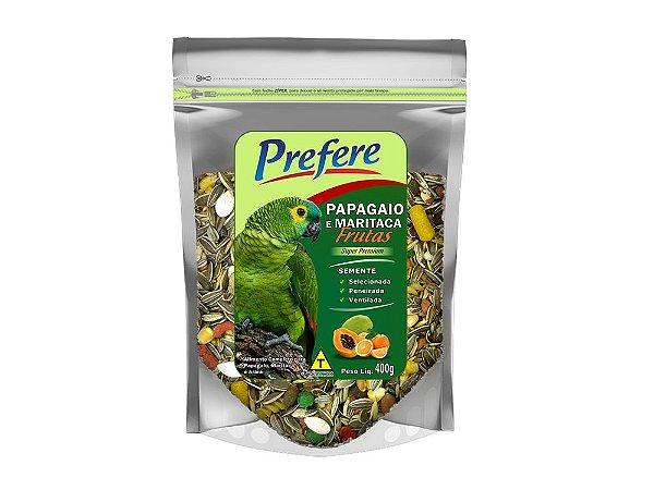 Mistura Papagaio e Maritaca com Frutas Prefere 400g