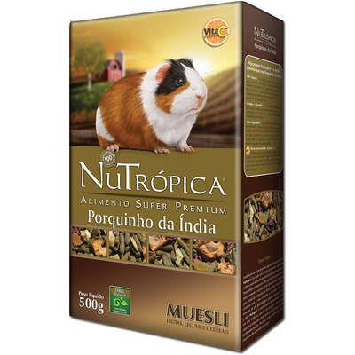 Ração Nutrópica para Porquinho da Índia Muesli - 500g