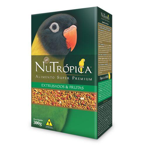 Ração Nutrópica para Agapornis Extrusados e Frutas- 300g
