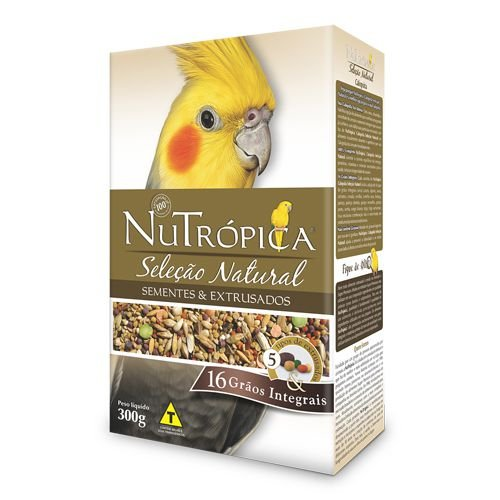 Ração Nutrópica Seleção Natural para Calopsita - 300g