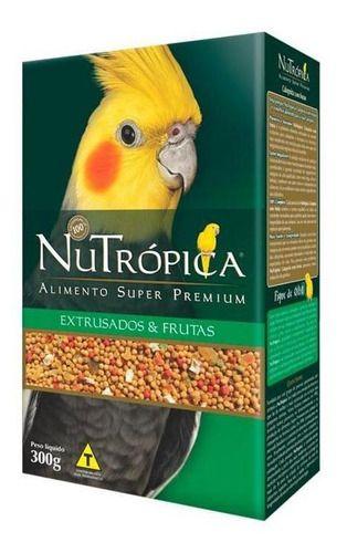 Ração Nutrópica para Calopsita com Frutas - 300g