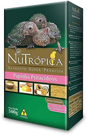 Papinha Nutrópica para Psitacídeos - 500g