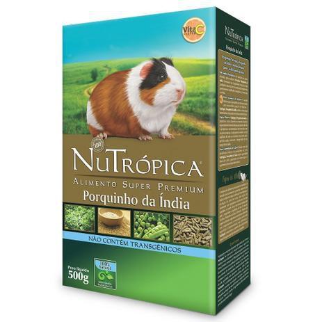 Ração Nutrópica Natural Para Porquinho da Índia - 500g