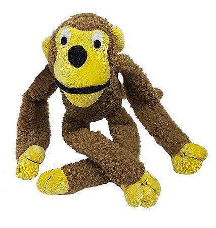 Brinquedo De Pelúcia Macaco Para Pets Chalesco