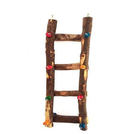Brinquedo De Maderia Para Aves Escada Papagaio Toy For Bird