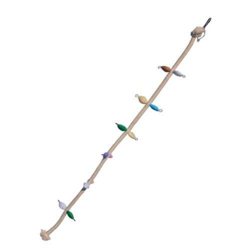 Brinquedo De Maderia Para Aves Corda De Acesso Toy For Bird