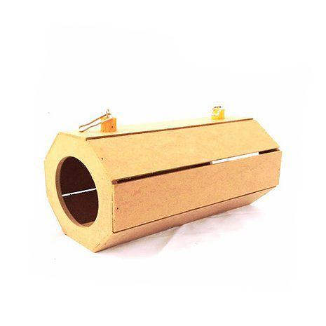 Túnel De Madeira M Para Roedores Toy For Bird