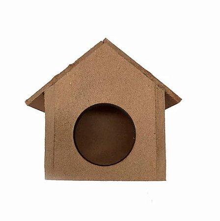 Toca Para Roedores MDF Casinha PP Toy For Bird